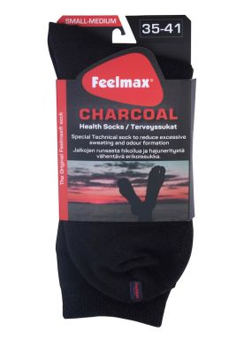 Charcoal with Heel Traditional