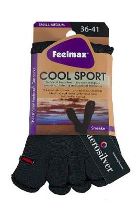 Coolsport Heel Sneaker Black